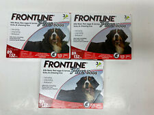 Frontline Plus for Dogs 89-132 lbs 12 Pack Genuine USA