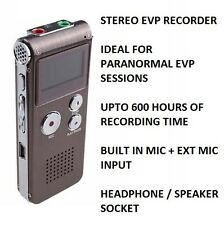 EVP Ghost Hunting Equipment - Electronic Voice Phenomena Digital Recorder 600 Hr