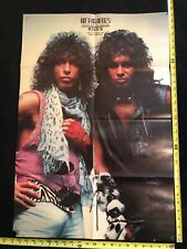 KISS Hit Parader's Poster, Heavy Metal Heros, Gene Simmons and Paul Stanley