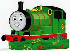 "Thomas the train wall sticker glossy cut out border character 10.5""  inch"