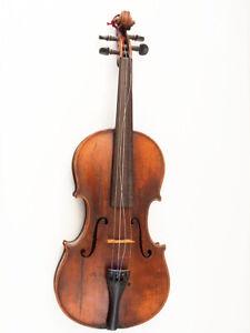 Schöne 4/4 Geige; bezeichnet Stradivarius; Restaurator