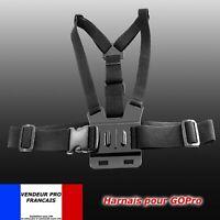 Harnais Fixation Sangle Poitrine Support GoPro pour Caméra GoPro HD Hero 2 3 4 5