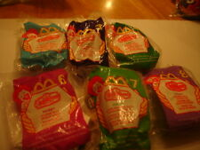 MCDONALDS  HAPPY MEAL TOYS  USA   MYSTIC KNIGHTS  6 FROM SET OF 8   MIP