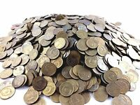 SOVIET RUSSIA LOT OF 100 USSR 1 KOPEK COINS 1961-1991 HAMMER AND SICKLE CCCP