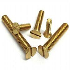 "steel Countersunk slotted machine screw qty12 3//16/"" x ¾/""  BSW WHITWORTH"