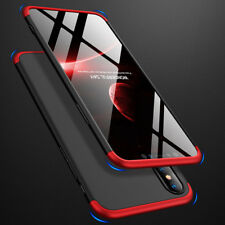 Full Cover Shockproof Hard Case For Apple iPhone 6 6s 7 8 Plus X XR XS MAX+Glass