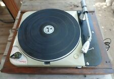 Vintage Serviced THORENS TD-124 Record Player Turntable Switzerland WORKING!!!