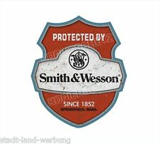 Smith&Wesson Aufkleber Sticker Oldschool Retro Hot Rod Rockabilly US CARS OEM V8