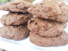 Gluten Free Double Chocolate Chip Cookies - Homemade - One Dozen