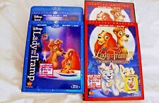 Lady and the Tramp 1 & 2 Scamp's Adv., 101 Dalmatians 1 & 2 Patch's, Blu-ray/Dvd