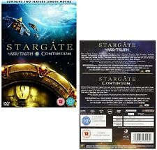 STARGATE SG-1 11 2008 TV Movies: The ARK OF TRUTH + CONTINUUM SG1  R2 DVD not US