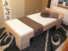 Massivholz Bett Gästebett 100x200 FußII Doppelbett Futonbett Holzbett Einzelbett