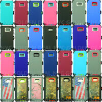 For Samsung Galaxy Note 5 Defender Case Cover w/ (Clip fits Otterbox)