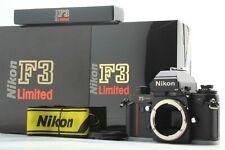 UNUSED IN BOX Nikon F3 HP Limited Black 35mm SLR Film Camera Body From JAPAN