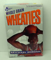MICHAEL JORDAN Collector's Wheaties Cereal Mint Full Box Excellent 1994