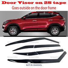 2020-2021 Kia Seltos Side Window Vent Visors Rain Guards Visor â�6pcsâ� Set (Fits: Kia)