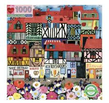 "eeBoo ""Whimsical Village"" Jigsaw Puzzle 1000 Pieces *MINT CONDITION*"