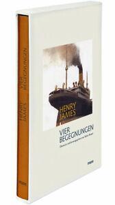 »Vier Begegnungen« von Henry James. mare-Klassiker