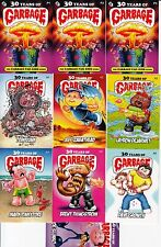 30 YEARS OF GARBAGE PAIL KIDS STORY MOVIE PROMO SET OF 10 CARD GPK ARTISTS SET