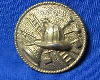 Vintage Early 1900s Firefighting Fireman's Badge NICE SHAPE