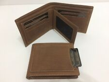 Wallet Cow Hunter Genuine Leather w/10 Credit Card Holders - (AE-130)