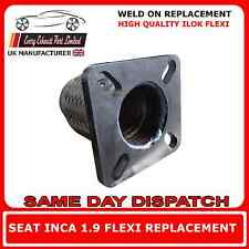 Seat Inca 1.9 D 1995-2003 Exhaust Repair Flexi Flex Replacement for Front Pipe