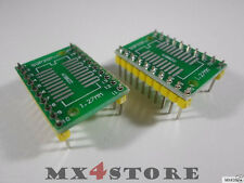 SOP20 SSOP20 SOIC20 SO20 TSSOP20 TSOP20 TVSOP20 QSOP20 zu DIP20 DIL20 Adapter