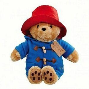 ~❤️~GUND PADDINGTON Teddy BEAR Sitting LARGE 30cms Plush Soft Toy BNWT~❤️~