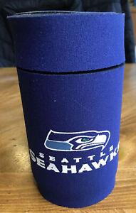 NWT Seattle Seahawks Flip Top Neoprene Can Koozie by Kolder Hard to Find