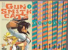 GUNSMITH CATS tomes 1 à 8 Sonoda MANGA seinen en français SERIE COMPLETE