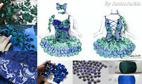 Custom One of a kind Mega Glitz National Pageant Cupcake Dress