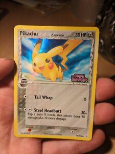 Pokemon Holon Phantoms - Pikachu 79/110 Holo card delta species