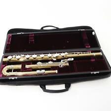 Yamaha Model YFL-B441II Gold Brass Bass Flute MAGNIFICENT! THE BEST BASS FLUTE