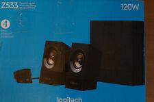 Logitech Z533 60W 2.1-Lautsprechersystem - Schwarz (980-001055) ohne Kabel