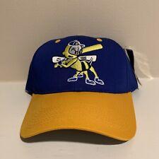 VTG Burlington Bees Minor League Baseball Snapback Hat NWT New Headstock Cap