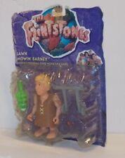 "FLINTSTONES Movie Rick Moranis BARNEY RUBBLE 1993 Mattel 4.5"" ACTION FIGURE MOC"