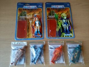 Super 7 Reaction Masters Of The Universe Stage1 Prototypes Sorceress + Scareglow