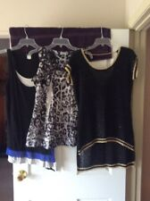 Women's Lot Of 3 (2) Tank Tops (1) Shirt Sleeve Size Medium See Details