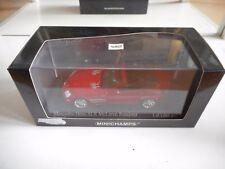 Minichamps Mercedes SLR Mclaren Roadster 2007 in Red on 1:43 in Box