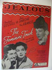 Jealous from Feminine Touch 1931 Don Ameche Rosalind Russell Malie & Finch