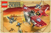 LEGO - PHARAOH'S QUEST -  - 7307 - INSTRUCTIONS!