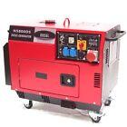 Diesel Stromerzeuger 5800 Generator 06263 schallisoliert 400V leise schallgedämm