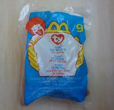 McDonald's Ty Teenie Beanie Babies #9 Tusk the Walrus from 2000 happy meal toy