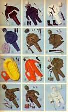"1970 MR ACTION ljn fits 12"" gi joe figure - MILITARY WESTERN - Shirt Pants Shoes"