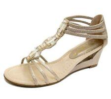 Sandalias y chanclas de mujer sin marca color principal oro