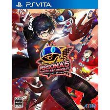 Atlus Persona 5 Dancing Star Night PS Vita SONY Playstation JAPANESE VERSION