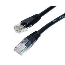5x Nikkai collegare Maplin n95hn CrossOVer LAN Cat 5 5e 6 rj45 di Cavo Ethernet Nuovo