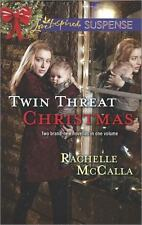 Twin Threat: One Silent Night & Danger In The Manger by Rachelle McCalla