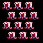 Lumistick LED Patriotic Hat Flashing Lights with Stars/Stripes American Flag lot