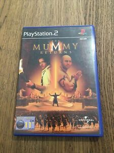 THE MUMMY RETURNS PLAYSTATION 2 PS2 PAL COMPLETE WITH MANUAL
